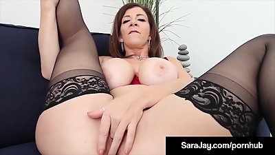 Big Booty Professor Ms. Sara Jay Makes..
