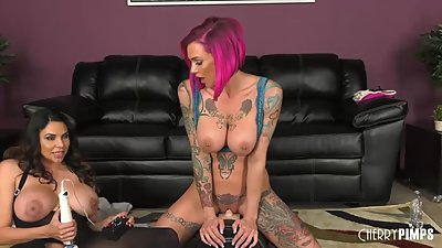 Missy Martinez and Anna Bell Peaks..