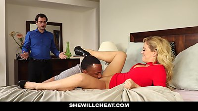 SheWillCheat - Slut Wife Finds First..