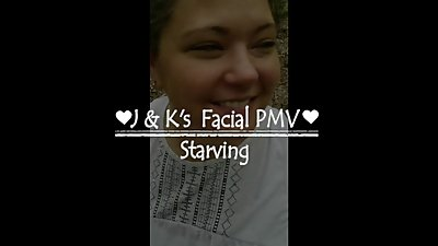 Amateur Facial Cumpilation PMV