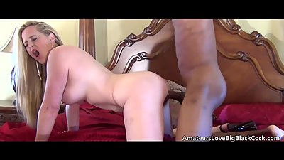 Hot blonde MILF tastes and feels the..