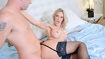 FamilyStrokes - Lonely Stepmom Fucked..