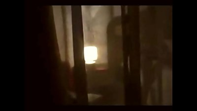 Caught Masturbating Through Window