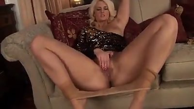blonde on high heels olivia jayne is..
