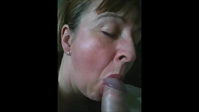 Housewife Sucking My Cock While Hubby..