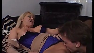 Hot milf and her younger lover 1019