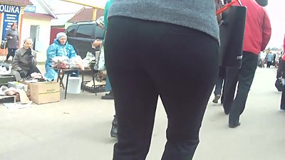 Big ass in black pants 2