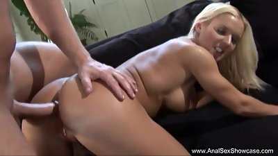 Blonde MILF Anal Penetration