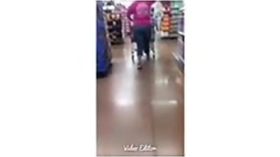 Thick Milf in Jeans at Walmart