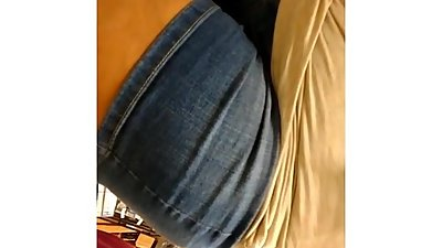 MILF with PHAT ass In Front of Husband..