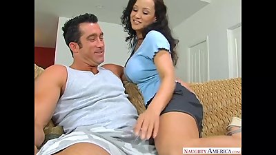 Big tits MILF Lisa Ann likes big dick!..